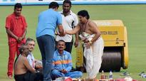 Anil Kumble watches on as pitch puja performed in Vizag