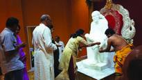 Guru Purnima Celebrations In Aurora, Ill. Draw Huge Crowd