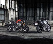 Yamaha MT-25 & MT-09 to hit indian market