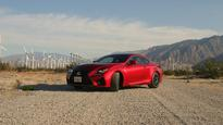 Behind the wheel: 2016 Lexus RC F Sport Coupe