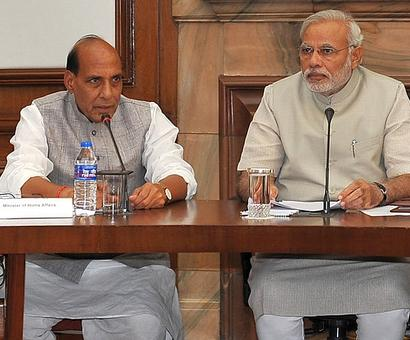 PM discusses Kashmir strategy with NIA, Rajnath