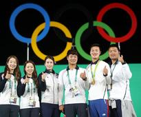 Park congratulates S. Korea's historic archery sweep in Olympics