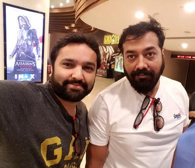 Spotted: Anurag Kashyap in Mumbai