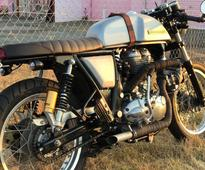 This Turbocharged Royal Enfield Continental GT-T is what you should see to vanish your Monday Blues