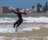Katrina Kaif hits the beaches in Essaouira Morocco !
