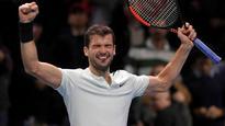 ATP Finals: Grigor Dimitrov snaps Jack Sock jinx, rises to world number three