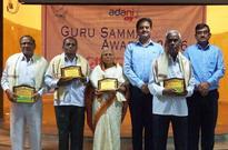 CEO of ADANI DHAMRA PORT felicitated teachers in 'GURU SANMMAN'