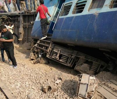 Rajya Rani derailment: UP cops not ruling out sabotage
