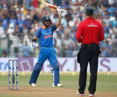 PHOTOS: India vs New Zealand, 1st ODI, Mumbai