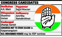 Cong. makes changes in list