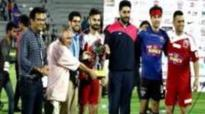 Virat Kohli Vs Ranbir Kapoor | Charity Football Match | Celebrtiy Clasico | Highlights
