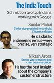Google's aspiration is to be your assistant, to know what you don't know, says Eric Schmidt