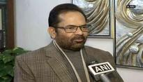 'Congress can't win Gujarat polls using Pakistan as pawn', says Mukhtar Abbas Naqvi