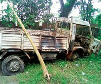 Mini truck drags youth to death