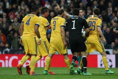 PHOTOS: Ronaldo penalty sends Real through after Juve fightback