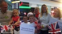 ParalympicsGB team return to heroes' welcome
