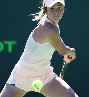 Tennis roundup: Svitolina ends Osaka's run; Halep survives scare