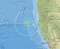 Magnitude 6.5 quake hits off California