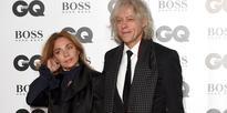 Bob Geldof proposed just days after burying his daughter