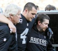 Carr's brother writes that Derek has no ligament damage