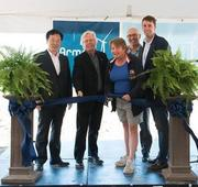 Grand opening of 180-MW Armow Wind-Power facility in Ontario