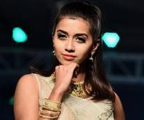 Vinsu looked ravishing at the Tamil Nadu Retail Jewellers Awards and Fashion Show at Leela Palace in Chennai