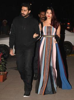 PIX: Aishwarya, Tina attend party