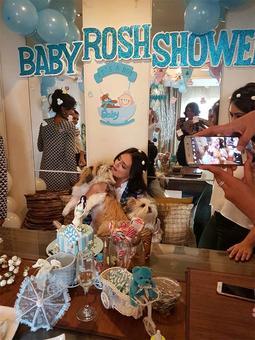 PIX: Roshni Chopra's adorable baby shower