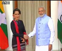 India, Myanmar ink agreements in sectors of power, bank, insurance