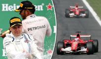 Is Valtteri Bottas to Lewis Hamilton what Rubens Barrichello was to Michael Schumacher?