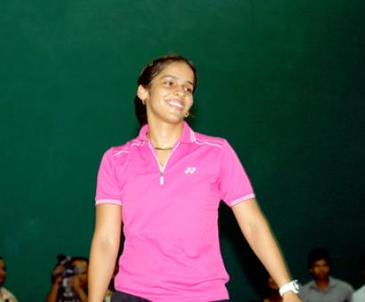 Saina leads a record Indian field in All England C'ship