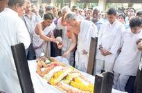 Shashikala cremated with full state honours