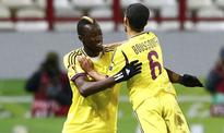 Ivory Coast's Lacina Traore scores as Anzhi beat Volga in Russian league