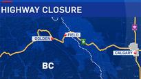 Rockslide closes Trans-Canada Highway west of Lake Louise