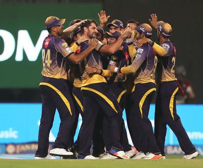 IPL PHOTOS: KKR pacers rip apart RCB to record stunning 82-run win