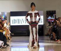 Brave acid attack survivor wows in her runway debut