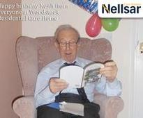 Happy Birthday Keith from everyone at Woodstock Residential Care Home