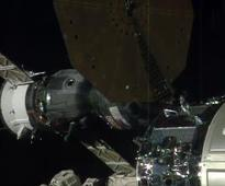 US, Russian and French crew arrives at space station for 6-month stay