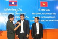Laos awards Labor Medal to Vietnamese experts