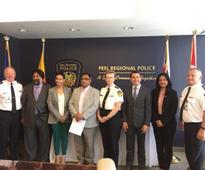 Peel region MPs, MPP engage with Peel Police on combating crime