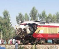One dead, five injured as train collides with cement mixer on tracks from Ferozepur in Punjab
