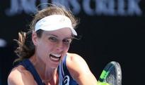 Australian Open: Brit Johanna Konta glides through into round two