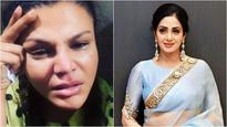 Oops! Rakhi Sawant does it again; This time gets slammed for sharing picture of Sridevi's mortal remains