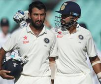Pujara, Vijay warm up for Lanka Tests with fine centuries