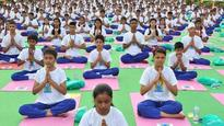 Can yoga classes in a public park be taxed?