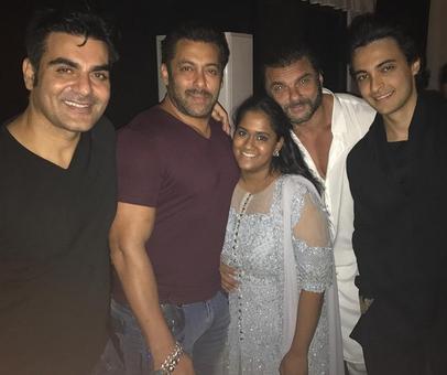Inside pix: Salman, Katrina at Arpita's Diwali bash