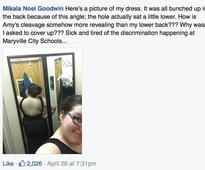 She Was Kicked Out of Prom for Wearing a Boob-Enhancing Dress. But Look What Other Girls Were Wearing