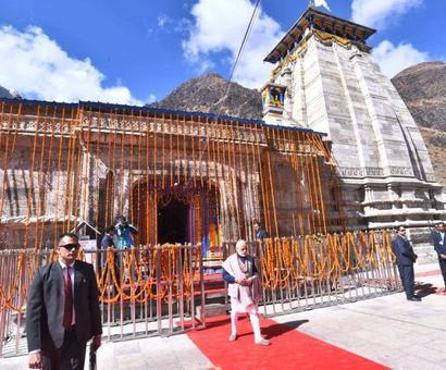 UPA didn't allow me to rebuild Kedarnath as Gujarat CM: Modi