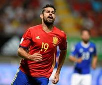 Soccer-Costa revival is good news for Spain, says Morata
