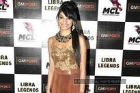Pooja Jhunjhunwala unveils logo and jersey of Libra Legends team of MCL in Mumbai